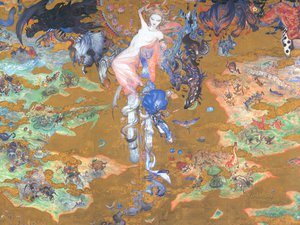 Rating: Safe Score: 14 Tags: final_fantasy final_fantasy_xi yoshitaka_amano User: WhiteExecutor