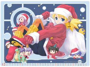 Rating: Safe Score: 2 Tags: aquaplus christmas leaf santa_costume sasamori_karin to_heart to_heart_2 User: Oyashiro-sama
