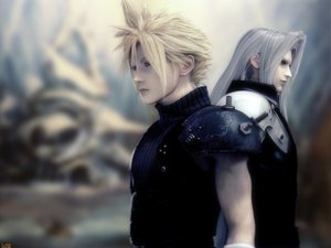 Rating: Safe Score: 27 Tags: cloud_strife final_fantasy final_fantasy_vii final_fantasy_vii_advent_children sephiroth User: Oyashiro-sama