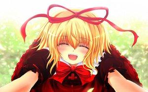 Rating: Safe Score: 43 Tags: blonde_hair medicine_melancholy nekominase ribbons touhou User: Zolxys