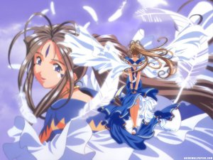 Rating: Safe Score: 13 Tags: aa_megami-sama belldandy feathers User: malthur