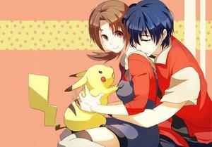 Rating: Safe Score: 56 Tags: hibiki kotone_(pokemon) pikachu pokemon tagme_(artist) User: vitoxela