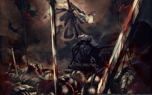 Rating: Safe Score: 252 Tags: armor artoria_pendragon_(all) blonde_hair blood fate_(series) fate/stay_night fate/zero lancelot_(fate) saber short_hair sword weapon User: ssagwp