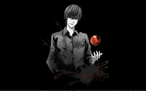 Rating: Safe Score: 11 Tags: apple death_note food fruit l male photoshop polychromatic red_eyes yagami_light User: Oyashiro-sama