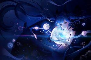 Rating: Safe Score: 61 Tags: aqua_eyes aqua_hair blue deep-sea_girl_(vocaloid) hatsune_miku long_hair magic pani_(wpgns9536) underwater vocaloid water User: mattiasc02