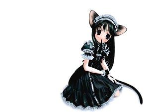 Rating: Safe Score: 26 Tags: animal_ears maid mousegirl User: Oyashiro-sama