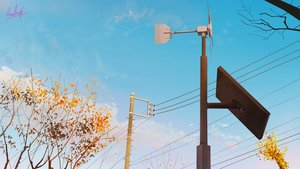 Rating: Safe Score: 29 Tags: banishment landscape original scenic signed sky tree windmill User: Dreista