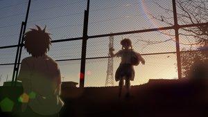 Rating: Safe Score: 62 Tags: isai_shizuka male school_uniform sunset tagme User: Wiresetc