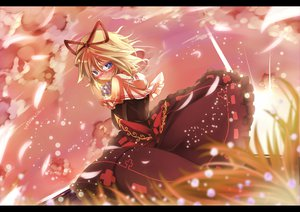 Rating: Safe Score: 44 Tags: blonde_hair blue_eyes blush bow dress medicine_melancholy mito_(calcomer) petals short_hair touhou User: PAIIS