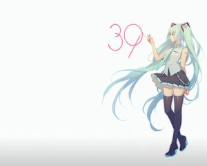 Rating: Safe Score: 50 Tags: aqua_hair gradient hatsune_miku long_hair photoshop ribbons skirt thighhighs tidsean tie twintails vocaloid User: RyuZU