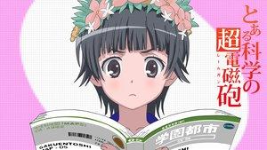 Rating: Safe Score: 32 Tags: black_hair book brown_eyes headdress short_hair to_aru_kagaku_no_railgun to_aru_majutsu_no_index uiharu_kazari User: pantu