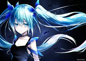 Rating: Safe Score: 37 Tags: deep-sea_girl_(vocaloid) hatsune_miku kazunehaka polychromatic vocaloid watermark User: FormX