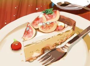 Rating: Safe Score: 23 Tags: animal bird cake chai_(artist) food fruit nobody original signed User: otaku_emmy