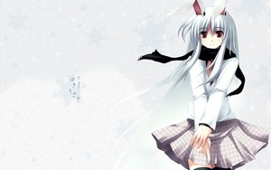 Rating: Safe Score: 13 Tags: animal_ears bunny_ears bunnygirl red_eyes reisen_udongein_inaba touhou User: Oyashiro-sama