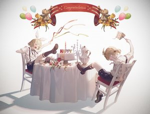 Rating: Safe Score: 23 Tags: cake fajyobore323 food kagamine_len kagamine_rin male vocaloid User: FormX