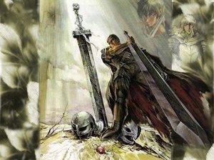 Rating: Safe Score: 43 Tags: berserk guts sword weapon User: Oyashiro-sama