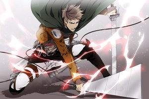 Rating: Safe Score: 55 Tags: jean_kirchstein kai28 shingeki_no_kyojin User: FormX