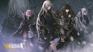 Rating: Safe Score: 57 Tags: ak12_(girls_frontline) an94_(girls_frontline) anthropomorphism girls_frontline gloves group gun infukun logo long_hair m16a1_(girls_frontline) m4a1_(girls_frontline) st_ar-15_(girls_frontline) thighhighs weapon User: Flandre93