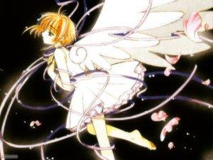 Rating: Safe Score: 6 Tags: card_captor_sakura clamp kinomoto_sakura petals ribbons wings User: Oyashiro-sama