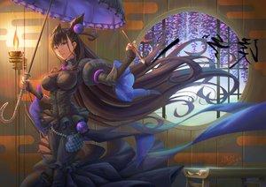 Rating: Safe Score: 51 Tags: black_hair fate/grand_order fate_(series) fire goth-loli ho-oh_(artist) lolita_fashion long_hair murasaki_shikibu tagme umbrella User: C4R10Z123GT