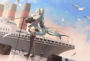 Rating: Safe Score: 34 Tags: animal bird boat hatsune_miku microphone saihate vocaloid User: FormX