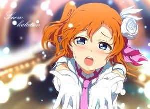 Rating: Safe Score: 72 Tags: blue_eyes blush flowers gloves kousaka_honoka love_live!_school_idol_project ogipote orange_hair short_hair tie User: Flandre93
