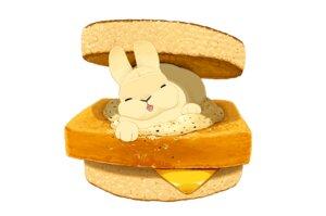 Rating: Safe Score: 10 Tags: animal food lilac_(pfeasy) nobody original rabbit white User: otaku_emmy
