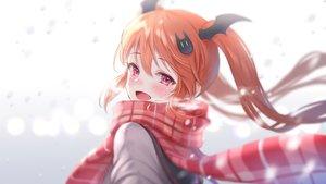 Rating: Safe Score: 52 Tags: demon fang iriam kuyurugi_shigure scarf school_uniform shimashima08123 twintails User: Dreista