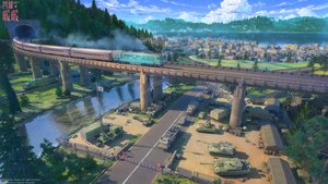 Rating: Safe Score: 69 Tags: arsenixc building car city combat_vehicle forest industrial landscape logo military nobody scenic shining_nikki train tree water watermark User: sadodere-chan