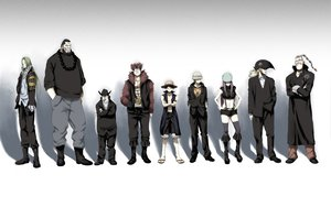 Rating: Safe Score: 63 Tags: basil_hawkins capone_gang_bege eustass_captain_kid ghost_in_the_shell:_stand_alone_complex jewelry_bonnie monkey_d_luffy one_piece parody scratchmen_apoo trafalgar_law urouge x_drake User: rargy