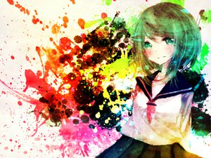 Rating: Safe Score: 45 Tags: gumi mirimo seifuku vocaloid User: MissBMoon