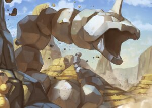Rating: Safe Score: 12 Tags: clouds desert nobody onix pokemon sandshrew sky spareribs User: otaku_emmy