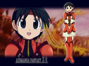 Rating: Safe Score: 19 Tags: azumanga_daioh chihiro_(azumanga_daioh) cosplay final_fantasy final_fantasy_x final_fantasy_x-2 parody User: Oyashiro-sama