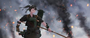 Rating: Safe Score: 20 Tags: anthropomorphism bow_(weapon) kantai_collection weapon yue_(tada_no_saboten) zuikaku_(kancolle) User: FormX