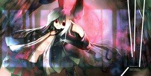 Rating: Safe Score: 19 Tags: animal_ears bunny_ears bunnygirl kei_(artist) reisen_udongein_inaba touhou User: Oyashiro-sama