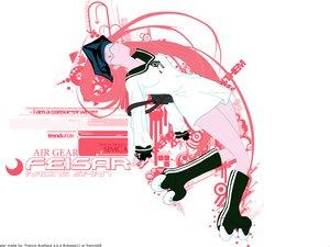 Rating: Safe Score: 18 Tags: air_gear pink simca User: Oyashiro-sama