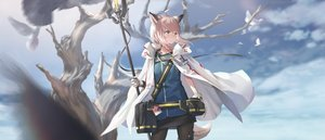 Rating: Safe Score: 65 Tags: animal_ears arknights gh_(chen_ghh) pantyhose staff sussurro_(arknights) tail User: Fepple