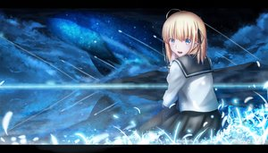 Rating: Safe Score: 108 Tags: artoria_pendragon_(all) fate_(series) fate/stay_night magicians saber User: luckyluna