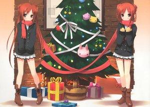 Rating: Safe Score: 66 Tags: 2girls christmas kantoku scan tagme tagme_(character) twins User: 秀悟