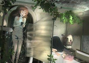 Rating: Safe Score: 37 Tags: 2girls bath hortensia_(rain_hortensia) kagerou_(kancolle) kantai_collection shiranui_(kancolle) User: mattiasc02