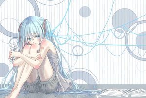 Rating: Safe Score: 68 Tags: butterfly hatsune_miku jpeg_artifacts long_hair shorts twintails vocaloid User: FormX