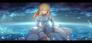 Rating: Safe Score: 104 Tags: artoria_pendragon_(all) fate_(series) fate/stay_night magicians saber User: RyuZU