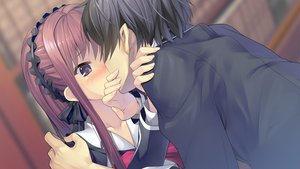 Rating: Safe Score: 27 Tags: black_hair blush book game_cg goka_michiru headdress long_hair purple_eyes ribbons seifuku shishigatani_ushio short_hair tokeijikake_no_ley_line urabi_(tomatohouse) User: Maboroshi