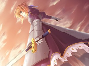 Rating: Safe Score: 15 Tags: fate/stay_night saber User: HawthorneKitty