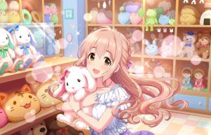 Rating: Safe Score: 15 Tags: annin_doufu blonde_hair blush bow braids brown_eyes bunny doll idolmaster idolmaster_cinderella_girls idolmaster_cinderella_girls_starlight_stage long_hair necklace saionji_kotoka teddy_bear wristwear User: RyuZU