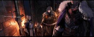 Rating: Safe Score: 30 Tags: armor group male original pixiv_fantasia swd3e2 watermark User: RyuZU