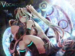 Rating: Safe Score: 78 Tags: aqua_hair hatsune_miku iriasu twintails vocaloid User: mikulover