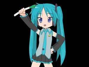 Rating: Safe Score: 48 Tags: cosplay hiiragi_kagami lucky_star parody transparent vocaloid User: Pilop