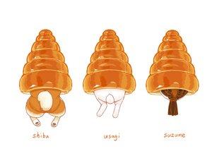 Rating: Safe Score: 29 Tags: animal bird dog food lilac_(pfeasy) original rabbit waifu2x white User: otaku_emmy