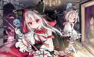 Rating: Safe Score: 27 Tags: 2girls animal_ears anthropomorphism azur_lane blush bow erebus_(azur_lane) gloves hoodie ia_(ias1010) kneehighs lolita_fashion long_hair red_eyes ribbons short_hair staff terror_(azur_lane) white_hair wink User: otaku_emmy